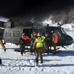 Włochy: Śmigłowcami ewakuowano turystów z hoteli w rejonach zagrożonych lawinami