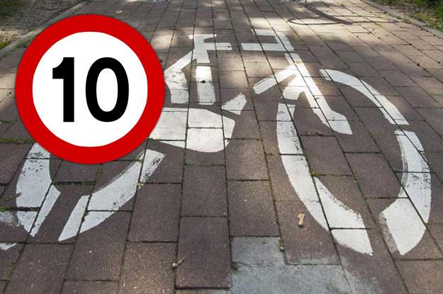 Włodarzom miasta chodzi przede wszystkim o zwrócenie uwagi na problem zbytniej brawury rowerzystów /poboczem.pl