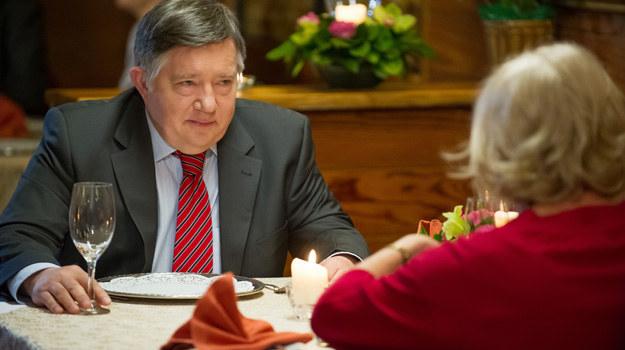 Włodek organizuje kolację pożegnalną. Chce być jak najlepiej zapamiętany. /x-news/ Radek Orzeł /TVN