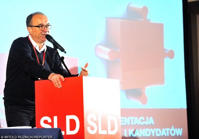 """Włodzimierz Czarzasty: """"SLD nie chyli się ku upadkowi"""" /    Witold Rozbicki/REPORTER /East News"""