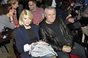 Włodzimierz Matuszak (65 lat) i Karolina Nolbrzak (30 lat) /   /AKPA