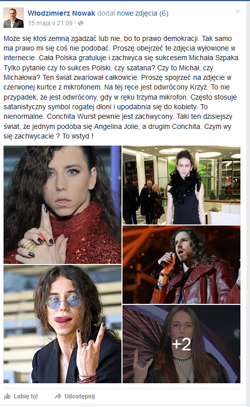 Włodzimierz Nowak na Facebooku /