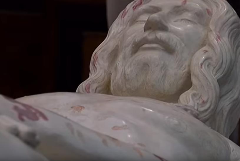 Włoscy naukowcy odtworzyli kształt ciała Chrystusa /YouTube