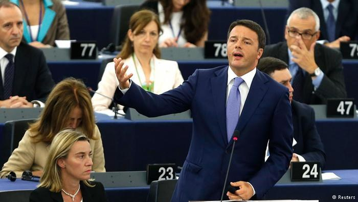 Włoska prezydencja chce odprężenia wobec Moskwy, wschód UE polityki twardej ręki /Deutsche Welle