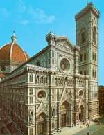 Włoska sztuka, katedra Santa Maria del Fiore, Florencja /Encyklopedia Internautica