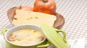 Włoska zupa serowa