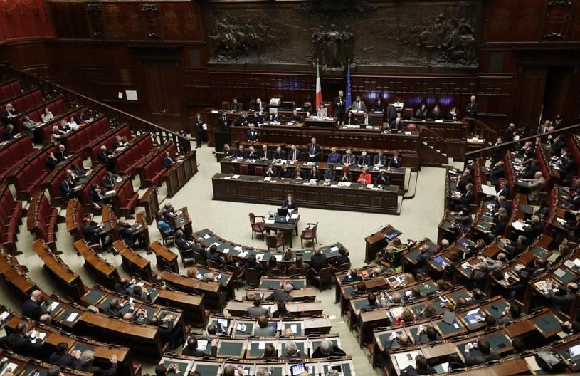 Włoski parlament /ALESSANDRA TARANTINO /East News