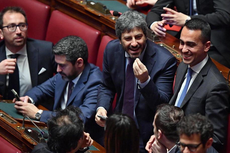 Włosy parlamentarzyści /ETTORE FERRARI/ANSA    /PAP/EPA
