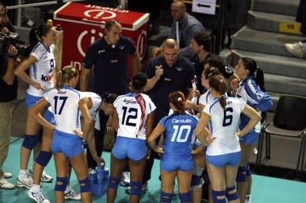 Włoszki pewnie kroczą w kierunku półfinału ME /www.cev.lu