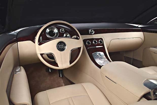 Wnętrze Cadillaca Sixteen (kliknij) /INTERIA.PL