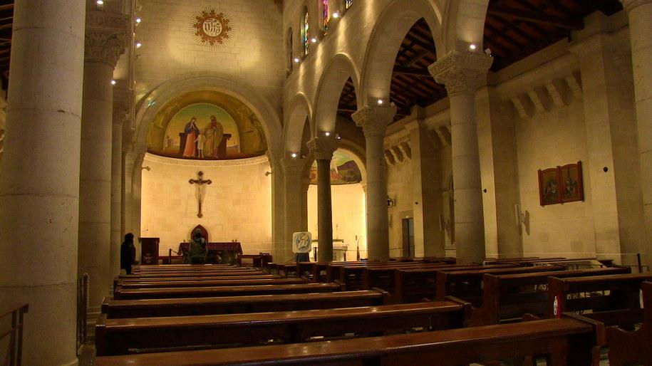 Wnętrze kościoła świętego Józefa /Piotr Bułakowski /RMF FM