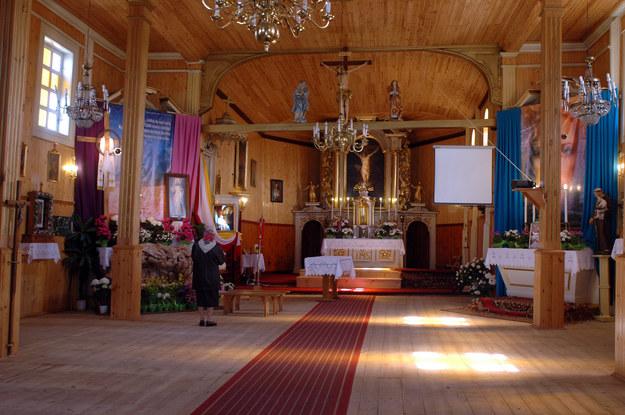 Wnętrze kościoła w Jeruzalu/fot. M. Ultowski /MWMedia