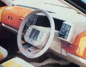 Wnętrze Mazdy MX-02 /Mazda