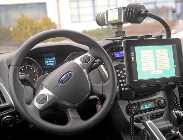 Wnętrze nieoznakowanego Forda ITD / Fot: Jan Bielecki /East News