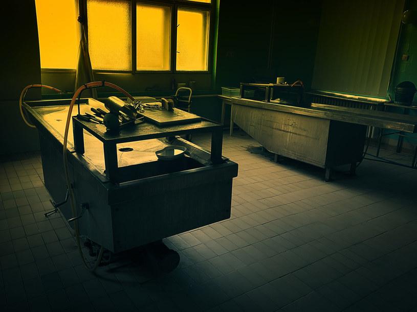 Wnętrze pokoju autopsji, zdj. ilustracyjne /©123RF/PICSEL