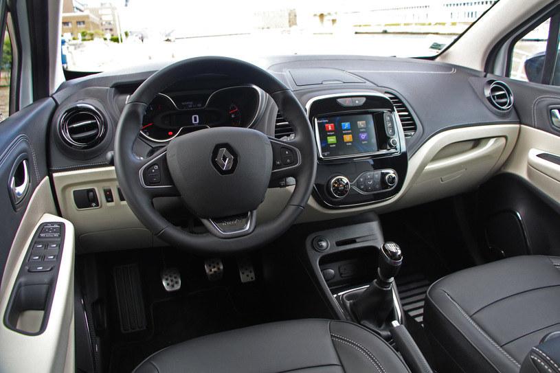 Wnętrze Renault Captur /