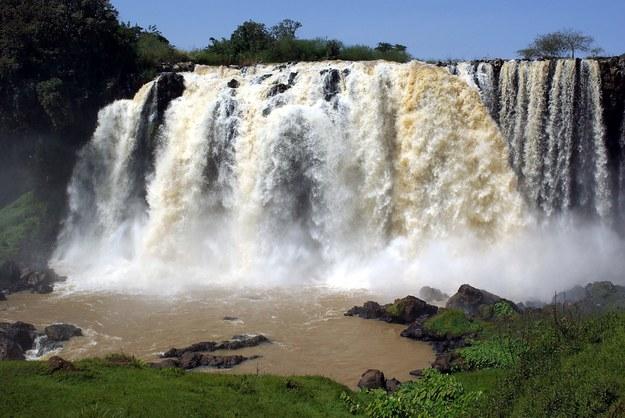Wodospady w Etiopii /123/RF PICSEL