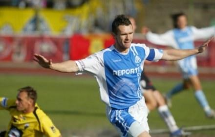 Wojciech Grzyb strzelił w niedzielę dwa gole dla Ruchu, fot. Dariusz Hermiersz /Agencja Przegląd Sportowy