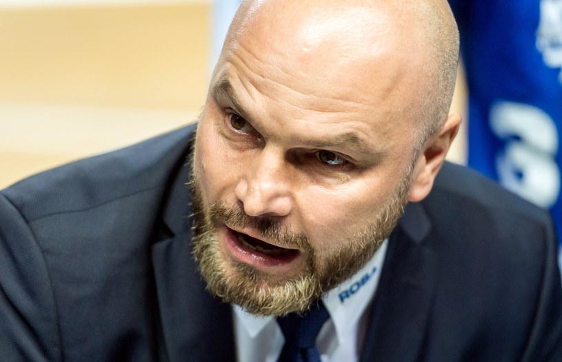 Wojciech Kamiński, trener Rosy Radom /Tytus Żmijewski /PAP