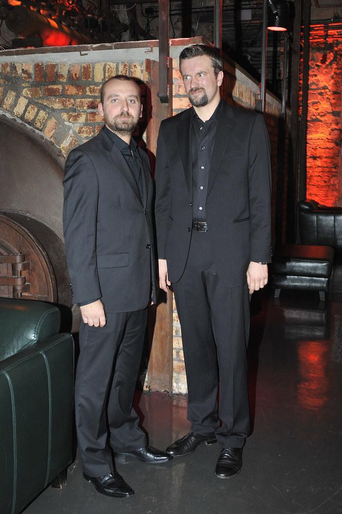 Wojciech Mecwaldowski i Tomasz Kot /Dariusz Gałązka /AKPA