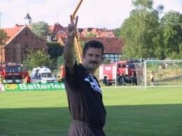 Wojciech Stawowy znów może pokazać wszystkim gest zwycięstwa /INTERIA.PL