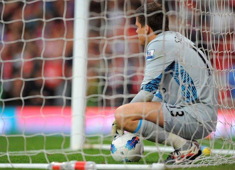 Wojciech Szczęsny nie popisał się w meczu z Southampton /AFP