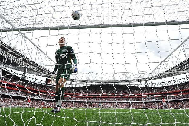 Wojciech Szczęsny w bramce Arsenalu /AFP