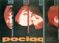 Wojciech Zamecznik, Pociąg, plakat, 1959 /Encyklopedia Internautica