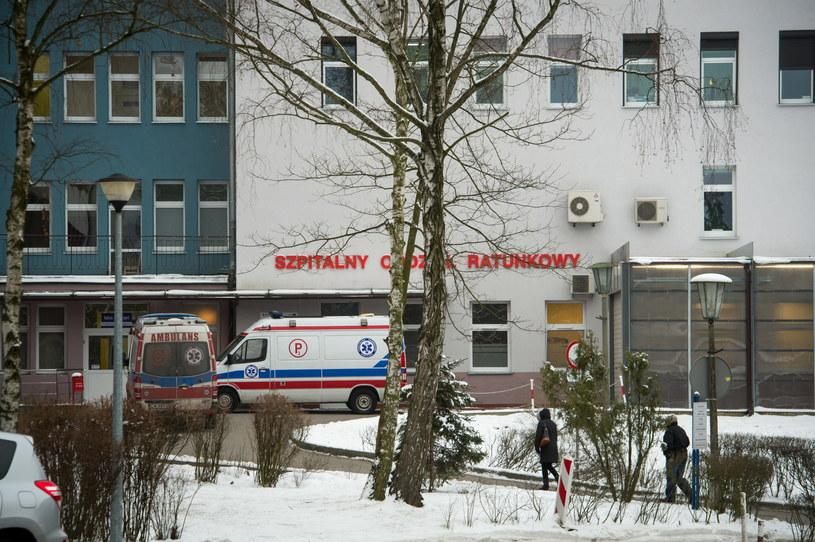 Wojewódzki Szpital Specjalistyczny im. bł. ks. Jerzego Popiełuszki we Włocławku, w którym doszło do tragedii. /PAP