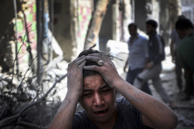 Wojna domowa w Syrii jest największym pogwałceniem podstawowych praw człowieka od lat /Getty Images