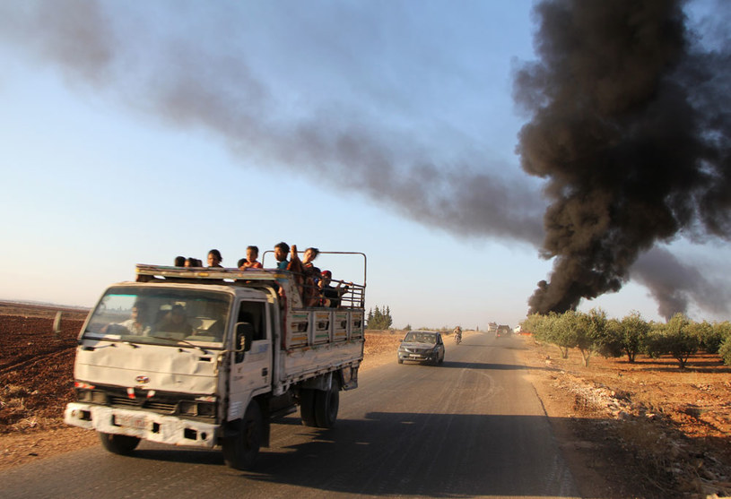 Wojna domowa w Syrii zmusiła miliony ludzi do porzucenia swych domów /AFP