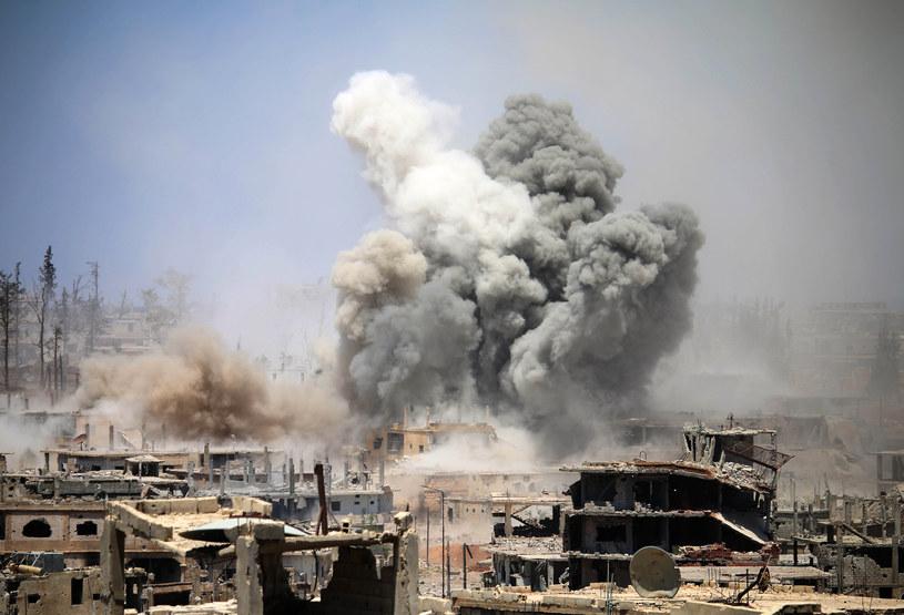 Wojna w Syrii, zdjęcie ilustracyjne /Mohamad ABAZEED / AFP /AFP