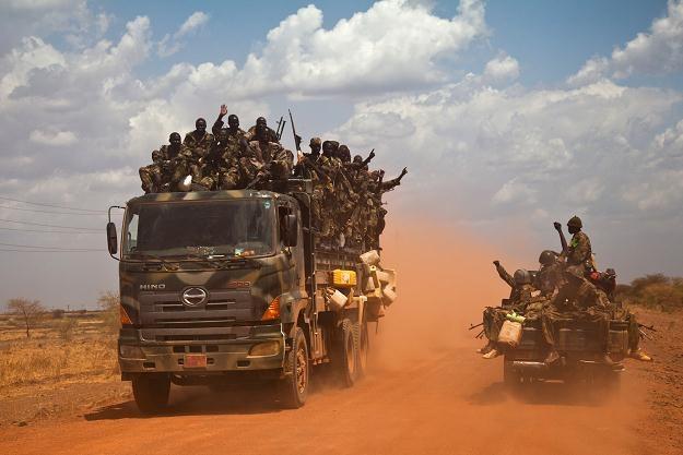 Wojska Sudanu Południowego /AFP