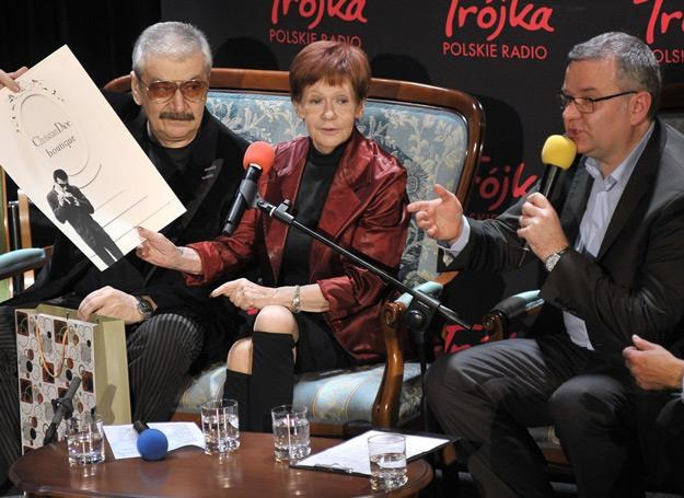 Wojtek Karolak, Maria Czubaszek i Artur Andrus nagrali razem teledysk /AKPA