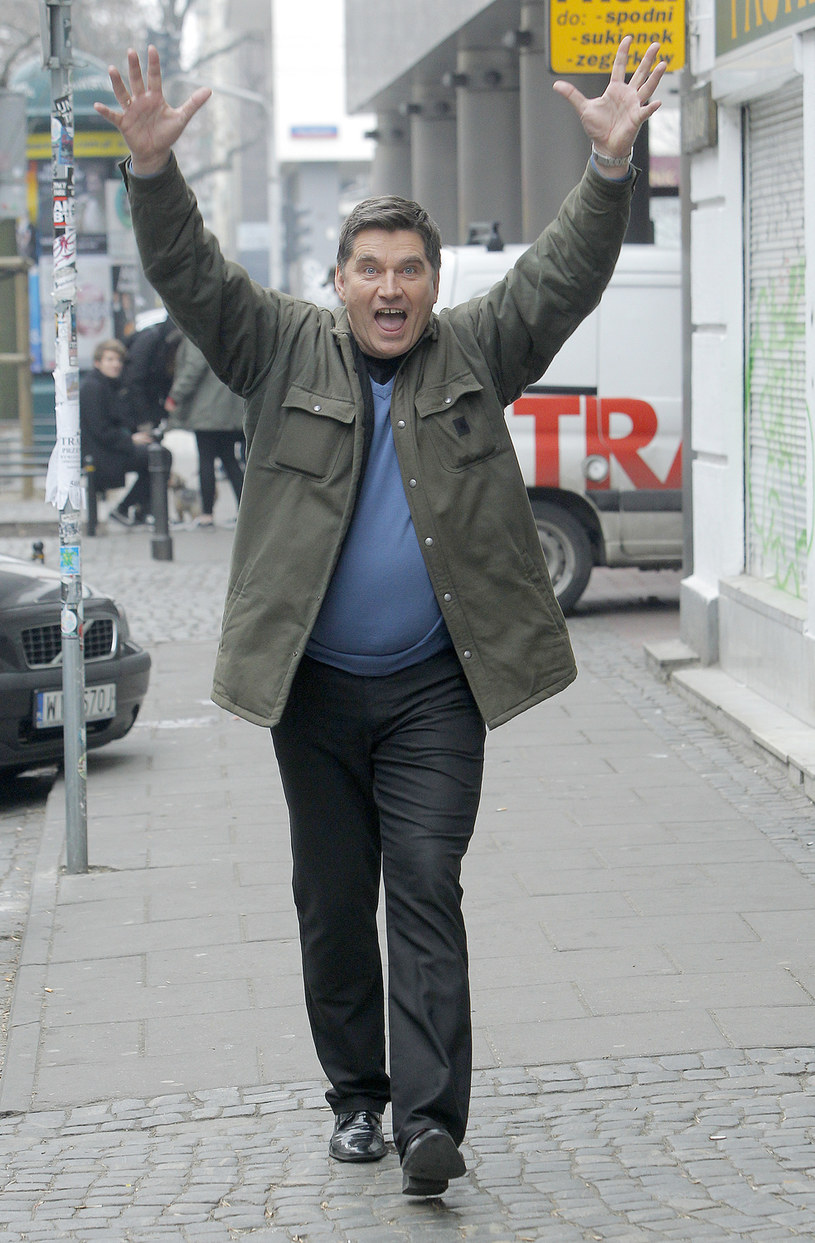 Wokalista pęka z dumy! /Jordan Krzemiński /AKPA