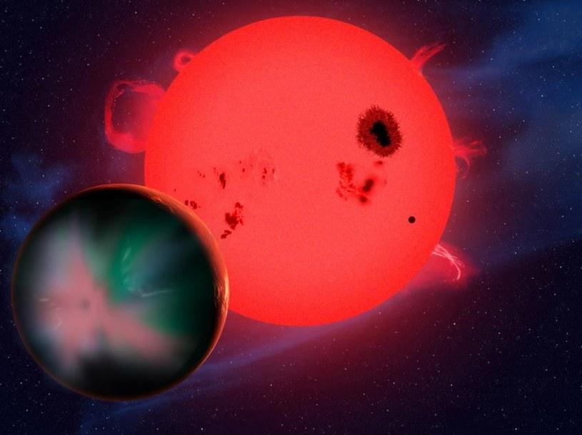 Wokół czerwonych karłów jest wiele planet, ale bez życia /materiały prasowe