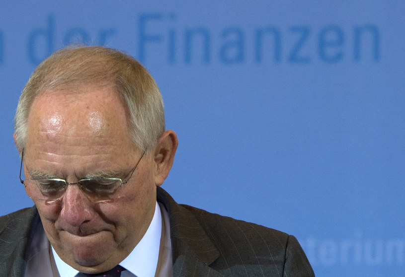 Wolfgang Schaeuble /AFP