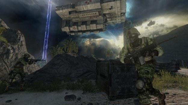 Wolisz strzelanki typu FPS, czy może gry taktyczne? Nie musisz wybierać - Battleship ma to wszystko /Informacja prasowa