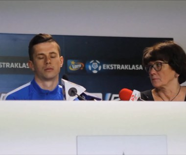 Wołodymyr Kostewycz przed meczem Lech - Pogoń. Wideo