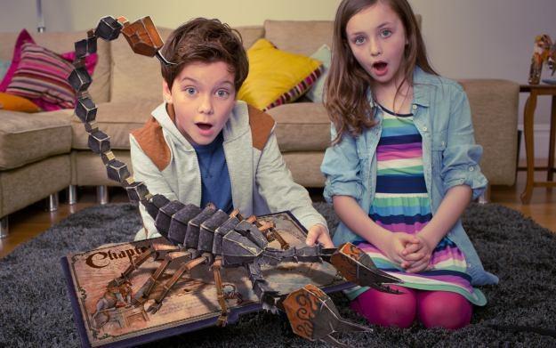 Wonderbook: Księga Czarów - zdjęcie promujące nowy produkt Sony /