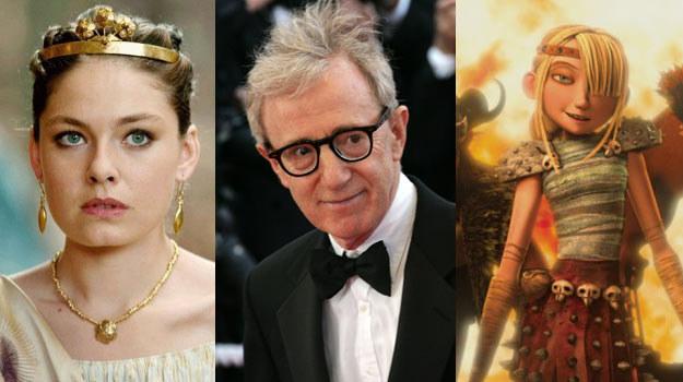 Woody Allen w otoczeniu innych bohaterów weekendu w polskich kinach /materiały dystrybutora