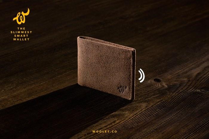 Woolet, czyli inteligentny portfel /materiały prasowe