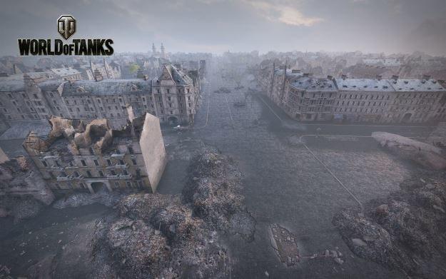 "World of Tanks - mapa ""Berlin"" /materiały prasowe"
