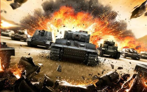 World of Tanks - motyw graficzny /Informacja prasowa
