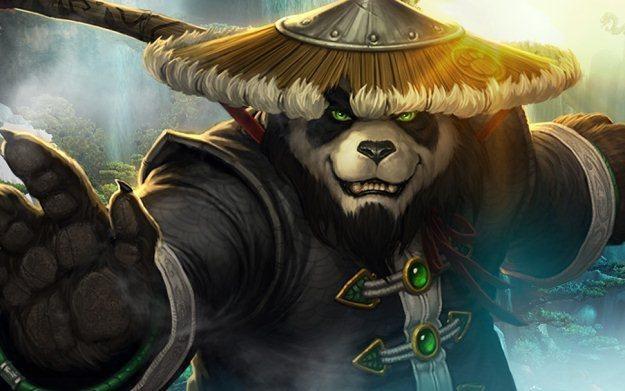World of Warcraft: Mists of Pandaria - motyw graficzny /Informacja prasowa