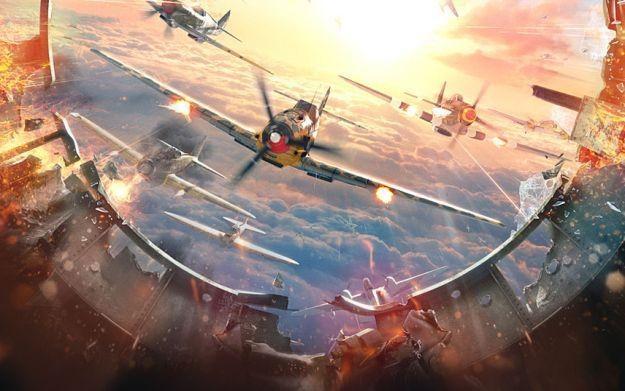 World of Warplanes - motyw graficzny /Informacja prasowa