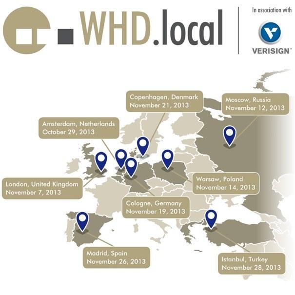 WorldHostingDays (WHD) to największa seria wydarzeń typu Business to Business w branży hostingu i rozwiązań z wykorzystaniem chmury obliczeniowej /materiały prasowe
