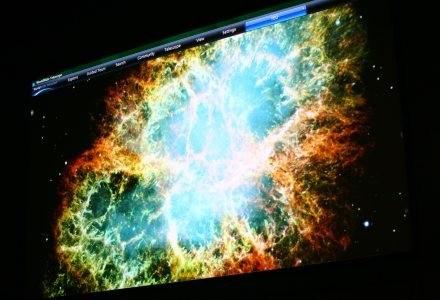 WorldWide Telescope - urządzenie zbierające obrazy z kilkunastu teleskopów. /materiały prasowe
