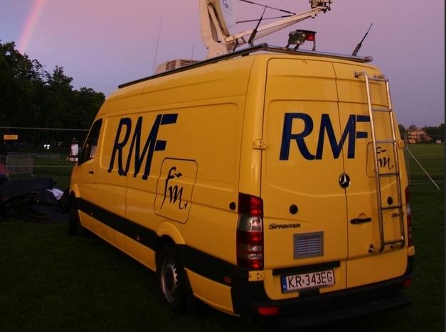 Wóz satelitarny RMF FM /Józef Polewka /RMF FM