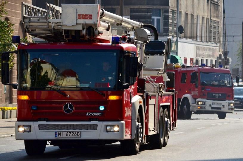 Wozy strażackie; zdj. ilustracyjne /Mariusz Gaczyński /East News